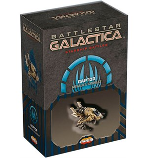 Battlestar Galactica Raptor Ass/Com Exp Starship Battles Utvidelse