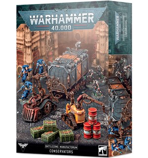 Battlezone Manufactorum Conservators Warhammer 40K