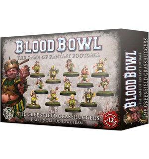 Blood Bowl Team Greenfield Grasshuggers Halflings