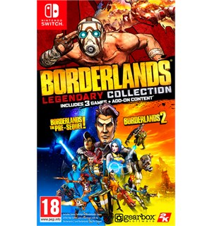 Borderlands Legendary Collection Switch Borderlands 1 & 2 + Pre-Sequel