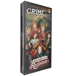 Chronicles Of Crime Welcome to Redview Utvidelse til Chronicles of Crime