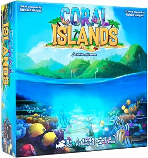 Coral Islands Deluxe Edition Brettspill