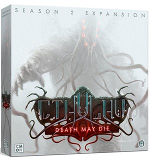 Cthulhu Death May Die Season 2 Expansion Utvidelse til Cthulhu Death May Die