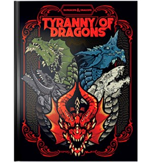 D&D Adventure Tyranny of Dragons LE Dungeons & Dragons Scenario Level 1-16