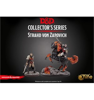 D&D Figur Coll. Series Strahd 2 figurer Dungeons & Dragons Collectors Series
