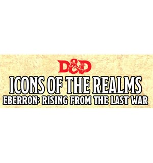 D&D Figur Icons Eberron x4 Dungeons & Dragons Icons of the Realm