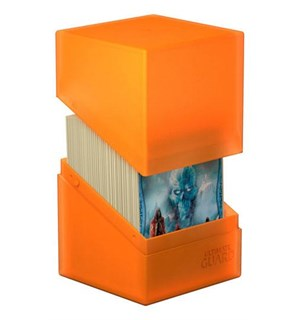 DeckBox Boulder 120 kort Poppy Topaz Samleboks Ultimate Guard 10 x 8 x 7,5 cm