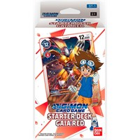 Digimon TCG Starter Deck Gaia Red Digimon Card Game - ST-1