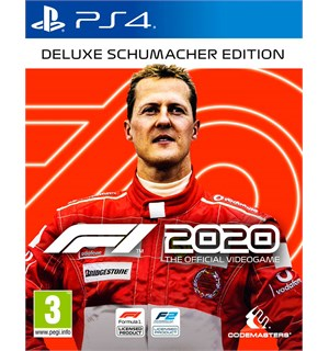 F1 2020 Deluxe Schumacher Edition PS4 3 DAGER EARLY ACCESS + in-game bonuser