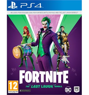 Fortnite The Last Laugh PS4