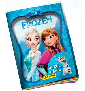 Frozen Movie Stickers Starter Pack Inkl Album + 4 boostere + 1 kortholder