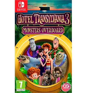 Hotel Transylvania 3 Switch Monsters Overboard