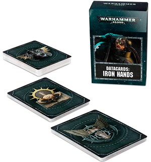 Iron Hands Datacards Warhammer 40K
