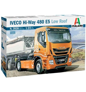 Iveco Hi-Way 480 E5 Low Roof Italeri 1:24 Byggesett