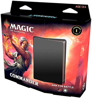 Magic Commander Deck Arm For Battle Commander Legends