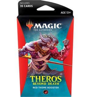 Magic Theros Beyond Death Theme Red Theme Booster - 35 røde kort