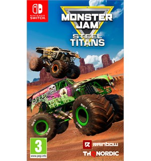 Monster Jam Steel Titans Switch