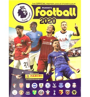 Panini Football 2020 Sticker Album PL Premier League Fotballklistremerker