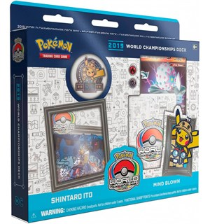 Pokemon 2019 WC Deck Shintaro Ito World Championship 2019