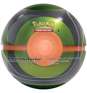Pokemon Pokeball Tin Grønn Dusk Ball Fall 2020 Edition