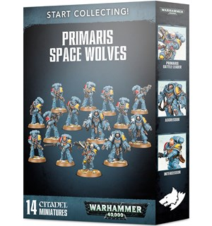 Primaris Space Wolves Start Collecting Warhammer 40K