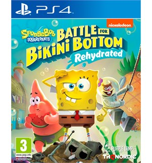 Spongebob Battle Bikini Bottom PS4 Battle for Bikini Bottom Rehydrated