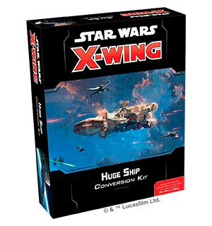 Star Wars X-Wing Huge Ship Conversion Bruk Huge Ships fra First Edition