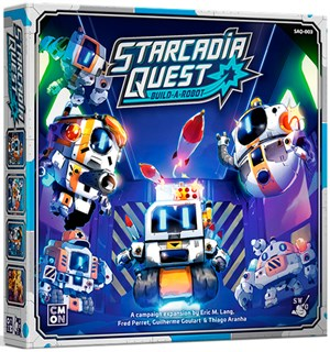 Starcadia Quest Build A Robot Expansion Utvidelse til Starcadia Quest