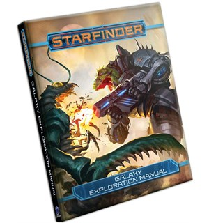 Starfinder RPG Galaxy Exploration Manual Roleplaying Game