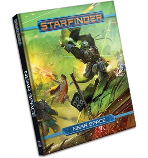 Starfinder RPG Near Space Rulebook Roleplaying Game - Regelbok