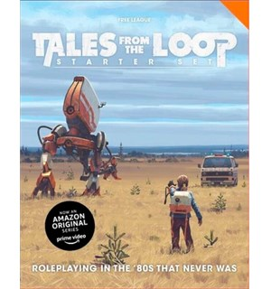 Tales From the Loop RPG Starter Set Startsett
