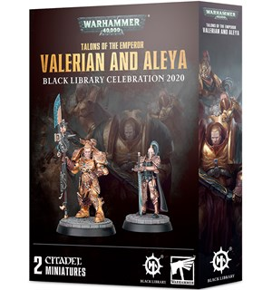 Talons of the Emperor Valerian & Aleya Warhammer Black Library 2020