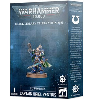 Ultramarines Captain Uriel Ventris Black Library Celebration 2021