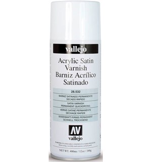Vallejo Acrylic Satin Varnish 400ml Beskytt akrylmalte modeller