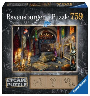 Vampires Castle 759 biter Puslespill Ravensburger Escape Room Puzzle