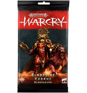 Warcry Cards Blades of Khorne Bloodbound Warhammer Age of Sigmar