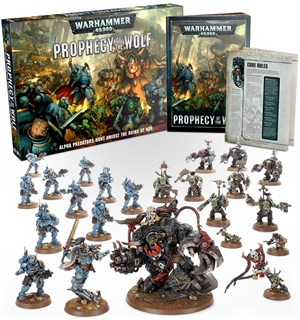 Warhammer 40K Prophecy of the Wolf Space Wolves vs Ork Battle Box