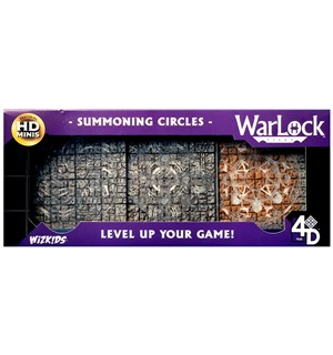 Warlock Tiles Summoning Circles Bygg din egen Dungeon i 3D!