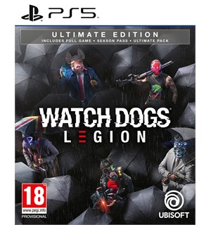 Watch Dogs Legion Ultimate Edition PS5 Season Pass, Ultimate Pack ++