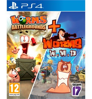 Worms Battleground & WMD PS4