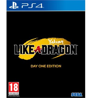 Yakuza Like A Dragon Day 1 Ed PS4 Day One Edition