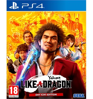 Yakuza Like A Dragon Day Ichi Ed PS4