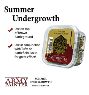 Army Painter Basing Summer Undergrowth Battlefield 4116 - 150ml