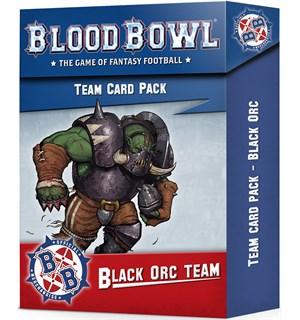 Blood Bowl Cards Black Orc Team