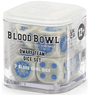 Blood Bowl Dice Dwarf Team