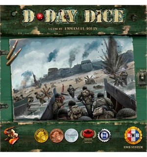 D-Day Dice Second Edition Brettspill