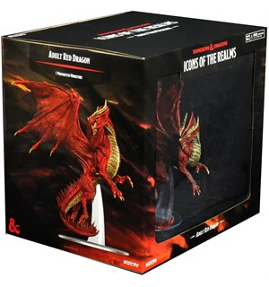 D&D Figur Icons Adult Red Dragon Icons of the Realms Premium Figure