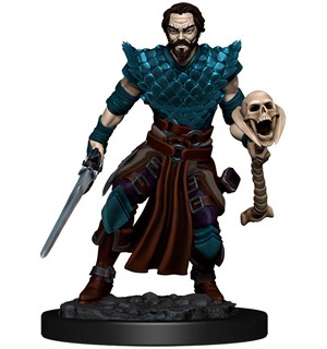 D&D Figur Icons Human Warlock Male Icons of the Realm Premium Figures