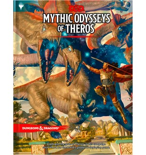 D&D Suppl. Mythic Odysseys of Theros Dungeons & Dragons Supplement