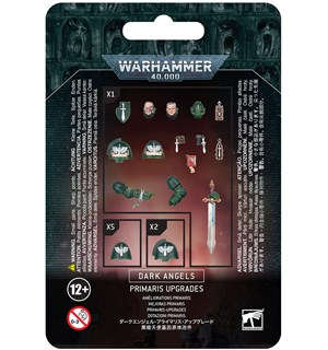 Dark Angels Primaris Upgrades Warhammer 40K